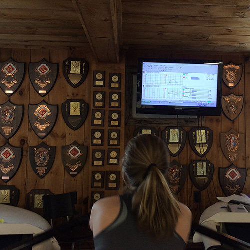 Rowing Efficiency Improvements Using Force Measurement Part III