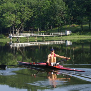 DBC Sculler On the Oyster River