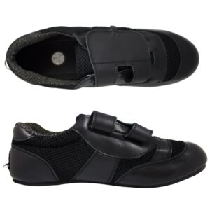 Standard Black Rowing Shoe