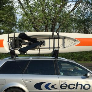 ECHO Sport Open Water Rowing Shell with Folding Riggers