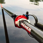 Rowing Performance Sensors Installed