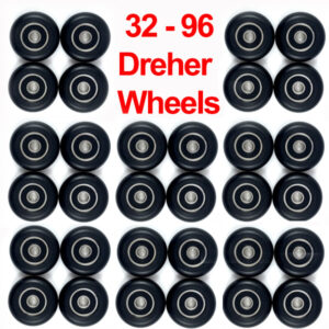 Dreher Performance Seat Wheels: Team Bulk Orders