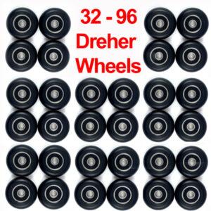 Dreher Performance Seat Wheels: Team Bulk Orders