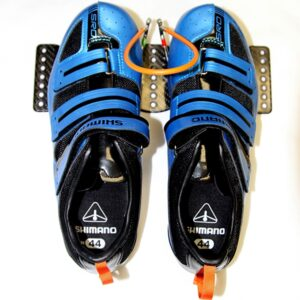 Dreher Footplate & Shimano Bindings for Vespoli